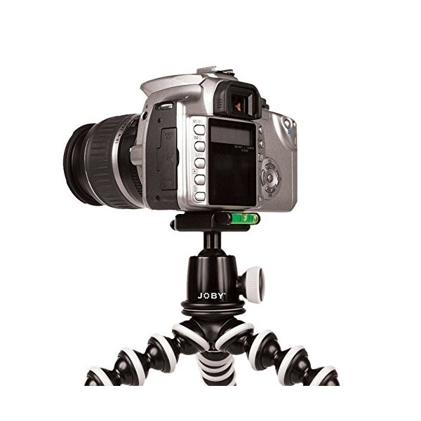 JOBY 一眼レフカメラ用フレキシブル三脚 ゴリラポッドSLRズーム&ボールヘッド ブラック/グレー 014056