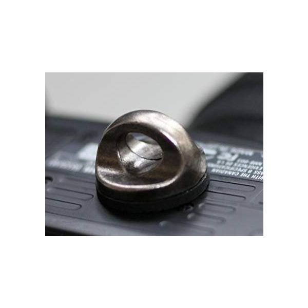 2個入CamRebel 金属ネジ ストラップアダプター 1/4インチ三脚ネジ穴用 (簡単なツイストグリップ)
