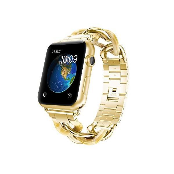 NotoCity Apple watch バンド アップルウォッチ ステンレススチール交換バンド 38mm 42mm 40mm 44mm対応Appl|tam-com