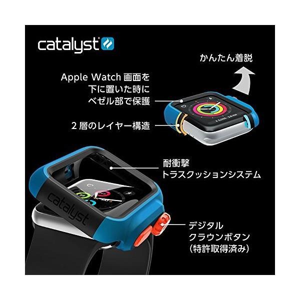 Catalyst (カタリスト) Apple Watch 42mm シリーズ 3/2 衝撃吸収ケース ステルスブラックグレー CT-IPAW1742