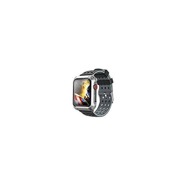 Apple Watchケース42mmに対応、素晴らしいApple Watchバンド42mmと金属保護ケースシリコンバンド、iWatch Series