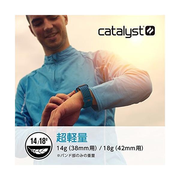 Catalyst (カタリスト) Apple Watch 42mm シリーズ 3/2/1 スポーツバンド ステルスブラックグレー CT-SBAW17