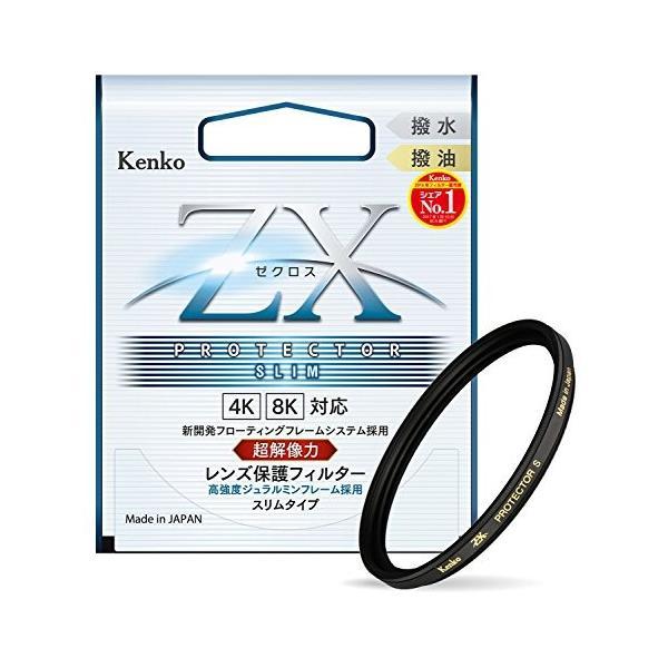 Kenko レンズフィルター ZX プロテクター SLIM 46mm 日本製 246337