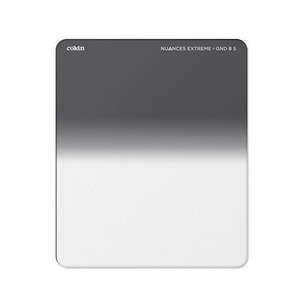 Cokin 角型フィルター NUANCE EXTREME ハーフグラデーション GND ND8 Mサイズ 84mm×100mm 強化ガラス製 NXP