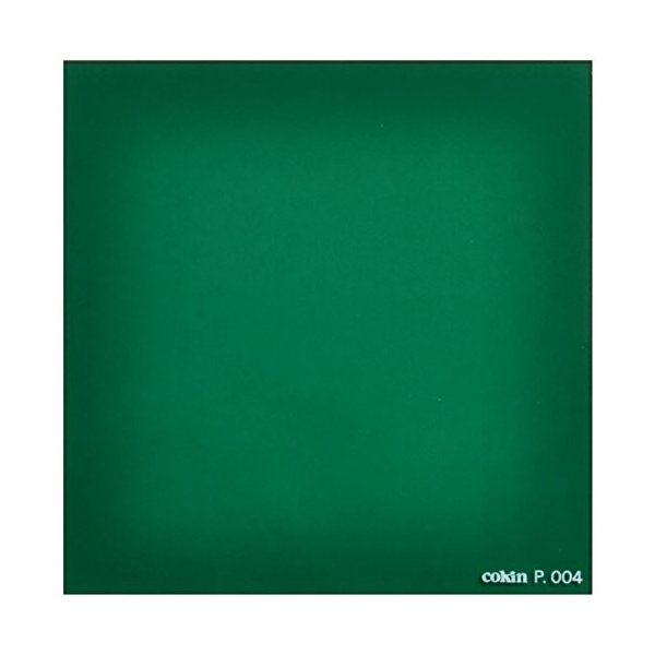 Cokin 角型レンズフィルター P004 グリーン 84×84mm 色彩効果用 000047