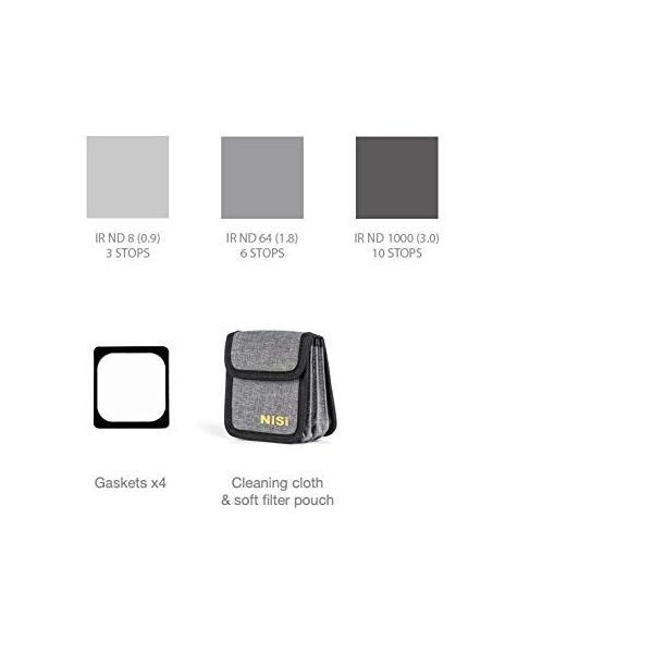 NiSi 角型フィルター 100mmシステム NDフィルター Nano 長時間露光キット