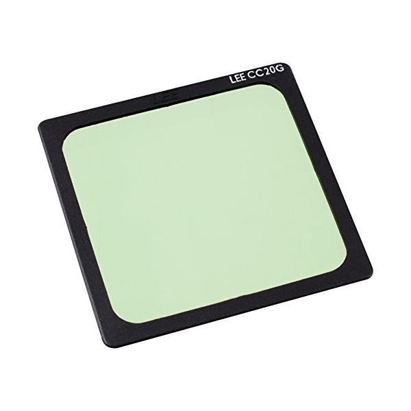 LEE 角型ポリエステルレンズフィルター グリーン (G) CC20 SP-41 100X100mm 色補正用 プラスチックフレーム付属モデル 38