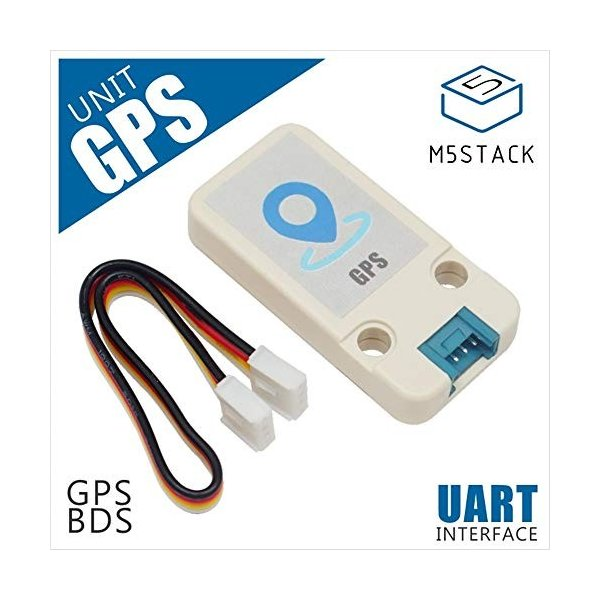M5Stack GPS / BDSミニユニットボードAT6558 + MAX2659、GROVEポートUARTインタフェース付きM5GO / M5S