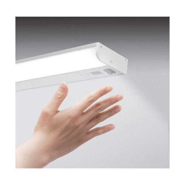 アイリスオーヤマ LEDキッチン手元灯 棚下・壁兼用 センサー付 KTM8N-TKS|tam-com|08
