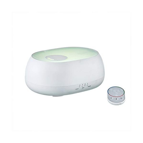 KTYX ホームオフィスのためのカラフルな呼吸の軽い加湿器、ミュートリモコン22.1X16.6X9.6cm 加湿器