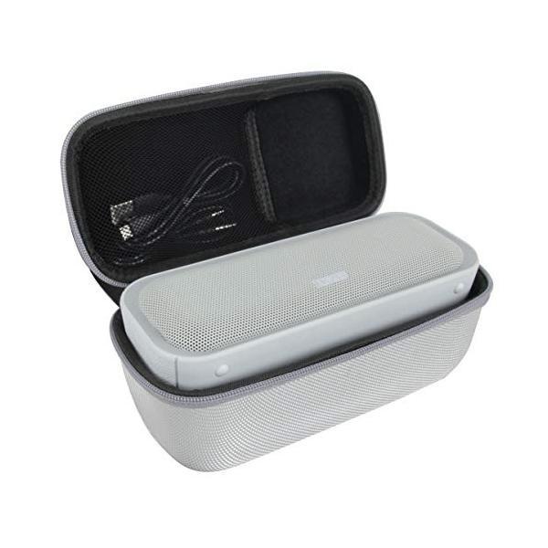 DOSS SoundBox Pro 20W出力 ポータブルブルートゥース ワイヤレススピーカー専用収納ケース-Hermitshell (グレー)