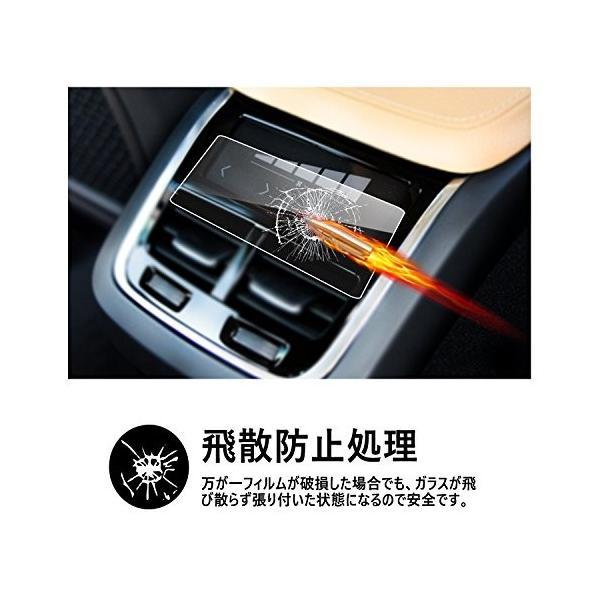【RUIYA】ボルボ Volvo エアコンパネル フィルム ガラス保護フィルム 硬度9H 飛散防止 キズ防止