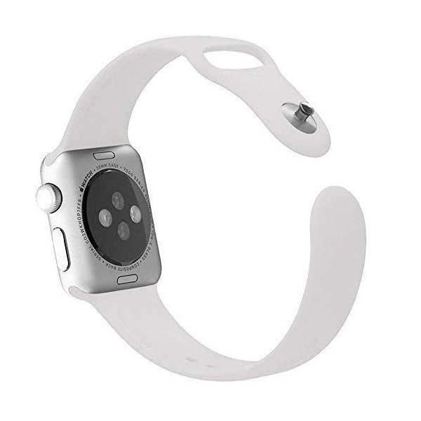 BAB 38mm iwatchベルト 時計バンド 腕時計ベルトアップルウォッチ スポーツバンド ソフト 高級感 シリコーン 製 交換ベルト
