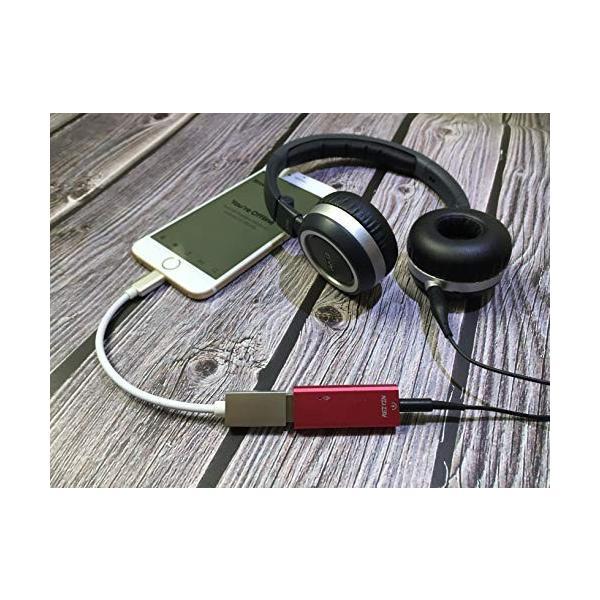 REIYIN DA-02 DAC USB-Aデジタルアナログ変換器 USBサウンドカード DAコンバーター ヘッドホンアンプ 192khz 24bi