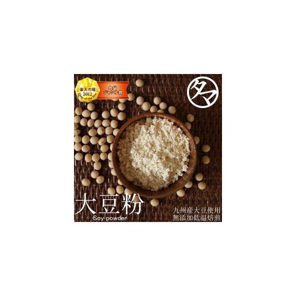 大豆粉 九州産大豆100%使用 500g BCAA ロイシン ソイ パウダー 栄養 レシピ たんぱく質 糖質制限 ダイエット 無添加 送料無料