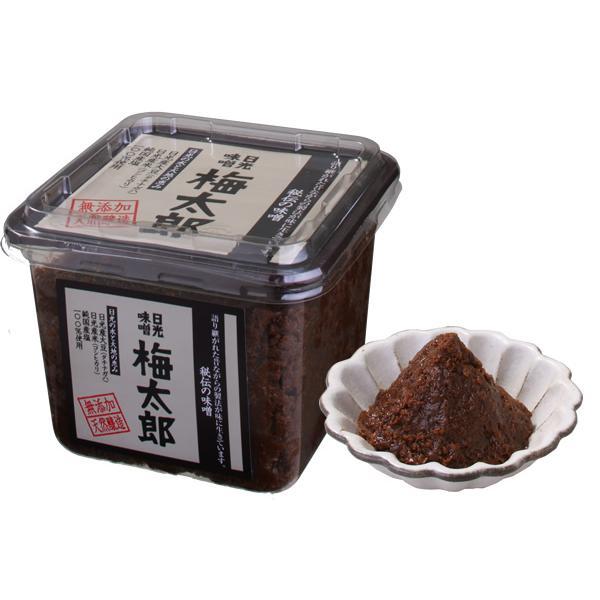 日光味噌 梅太郎(赤味噌) 500g パック入り 972円