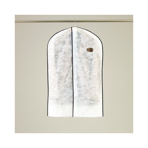 洋服カバー オール不織布タイプ 合わせ洋服カバー スーツ・ジャケットサイズ 3枚入(FA474)|tamatoshi