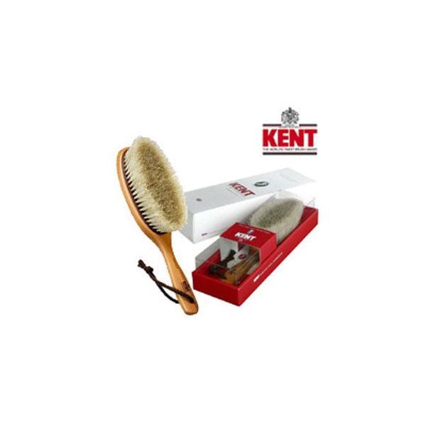 KENT ケント 白馬毛洋服ブラシ KNC-3422 静電気除去 花粉対策 正規品 白馬毛 スーツ
