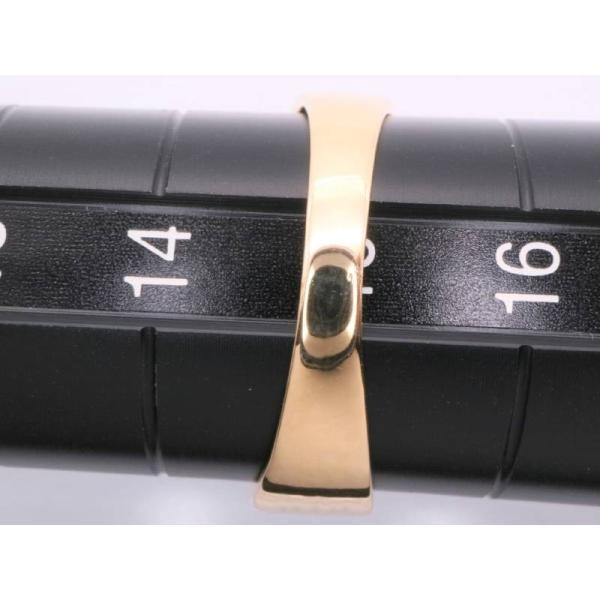 リング 15号 ハート アクアマリン ダイヤ0.02ctデザイン pt900K18リング プラチナイエローゴールド