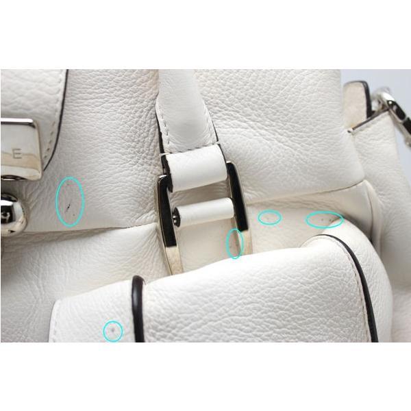 2WAYバッグ セリーヌ ハンド/ショルダー ホワイト 72899