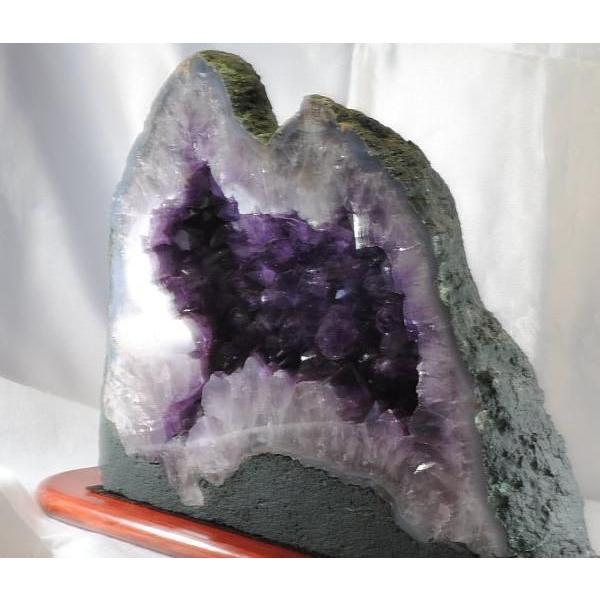 アメシスト 紫水晶 ジオード ブラジル産 約9.0kg   k3102