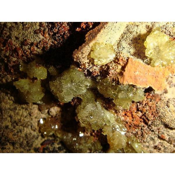 アダマイト・オン・鉄母岩 約16×9×8cm、約780g  メキシコ産 鉄母岩付き原石 k5133|tamichi|02