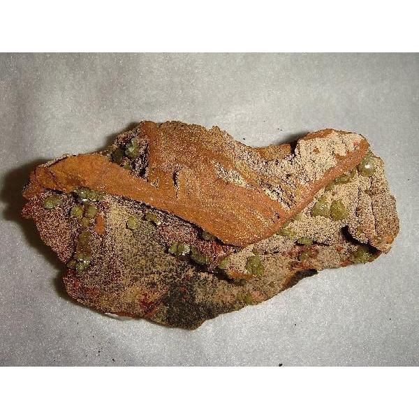 アダマイト・オン・鉄母岩 約16×9×8cm、約780g  メキシコ産 鉄母岩付き原石 k5133|tamichi|04