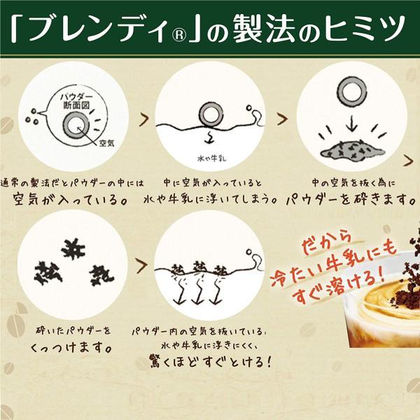AGF ブレンディ まろやかな香りブレンド 袋 210g インスタントコーヒー 水に溶けるコーヒー 詰め替え エコパック|tamurashop|06