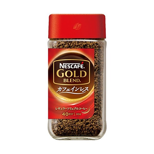 ネスカフェ ゴールドブレンド カフェインレス 80g|tamurashop
