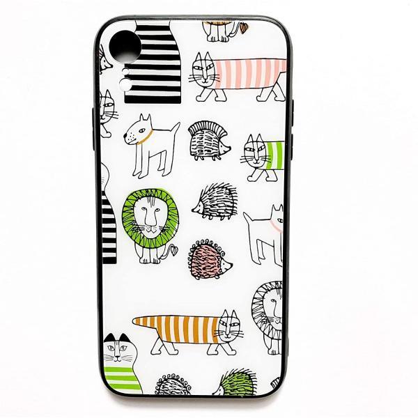 iPhoneシリーズ リサラーソンデザイン マイキー 強化ガラスケース (iPhone7,7PLUS,8,8PLUS,X,XS,XS MAX|tamurashop|02