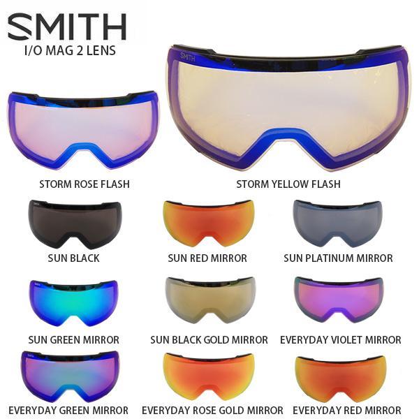 SMITH 〔スミス スキーゴーグル スペアレンズ〕I/O MAG 2 LENS〔アイオーマグ2レンズ〕