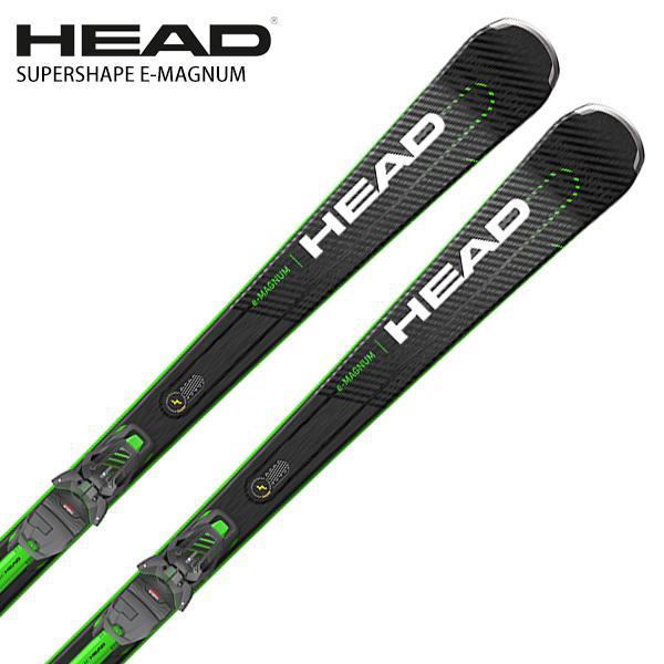 スキー板 HEAD ヘッド <2022> SUPERSHAPE E-MAGNUM マグナム + PRD 12 GW ビンディング セット 取付無料 21-22