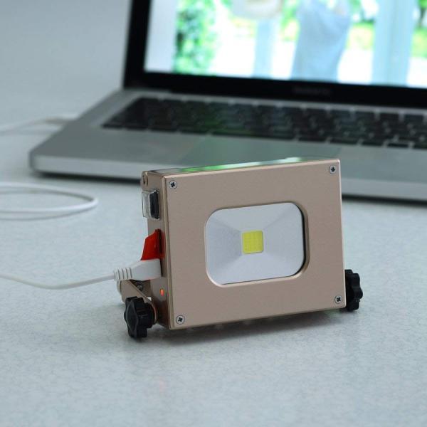 ソーラーパワーLEDライト ソーラー充電式LEDライト 携帯 防犯防災グッズ  懐中電灯 おしゃれ アウトドア レジャーubisys