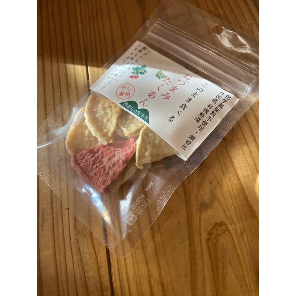 おつまみたくあん 今までにない新食感 。ドライフル−ツのような無添加漬物のおやつ ソフトドライ |tanba-shinotaro|02