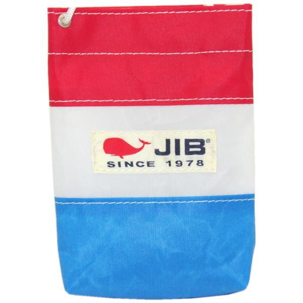 BPS20 JIB バリットポシェットS ロケットブルー×レッド ホワイトショルダーロープ付