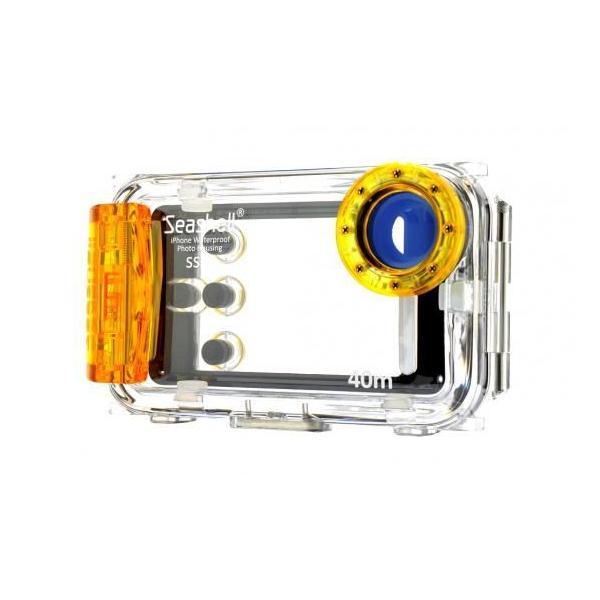Seashell SS-i5 iPhone5/5s/5c用防水ハウジング/防水ケース iPhone5/5s/5c対応 耐圧水深40m