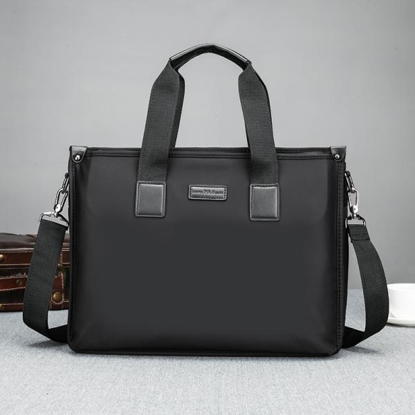 ビジネスバッグ アタッシュケース オックスフォード ハンドバッグ パソコンバッグ メンズ トートバッグ 撥水 14インチPC対応  A4サイズ対応 2WAY