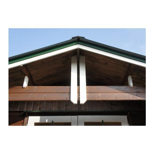 ●キルヤ(人気の3坪サイズ)スチール・プレハブにはない木の魅力、大きな屋根とベランダ付の格安なセルフビルド推奨ミニログハウスキット。DIYに最適!|tanoclife|05