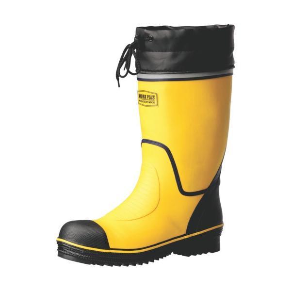 ミドリ安全 ワイド樹脂先芯入り安全長靴 イエロー 26.0cm 766N−Y−26.0 1足 (メーカー直送)