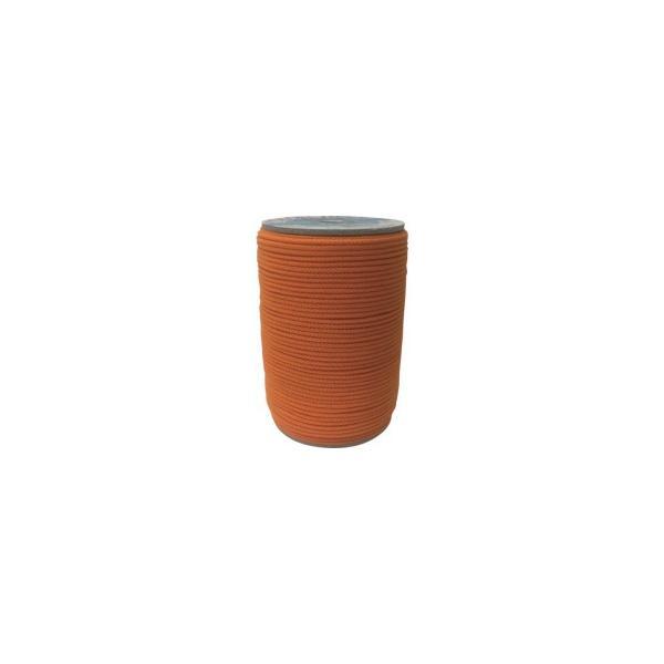 ユタカメイク アクリルカラーボビン巻 3mm×150m オレンジ PAC−403 1個 (メーカー直送)