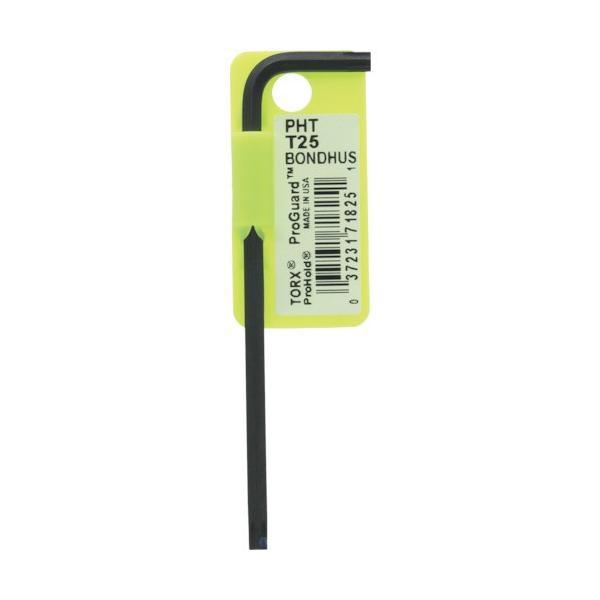 ボンダス プロホールド トルクスL−レンチ T25 ネジつかみ機能付 PHT25 1本 (メーカー直送)