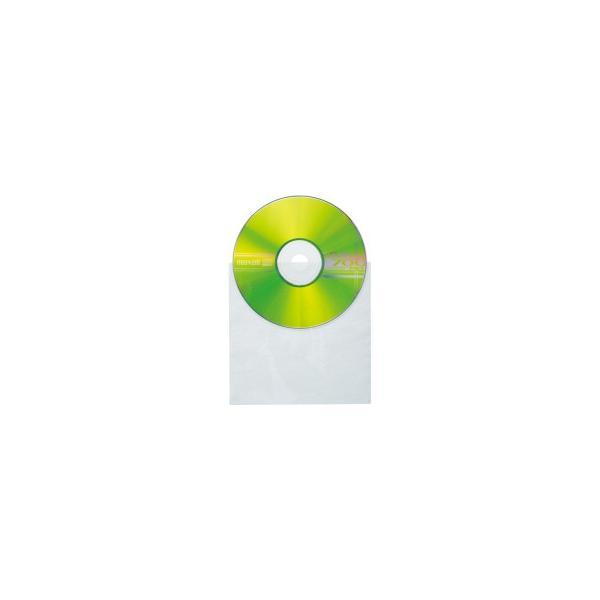 明晃化成工業 CD不織布ケース シングル KSF51−100W 1パック(100枚)