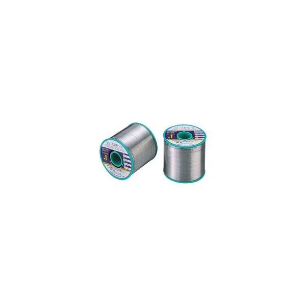 石川金属 鉛フリーやに入はんだ エバソル 飛散防止 線径0.6mm J3ARK3−06 1巻 (メーカー直送)