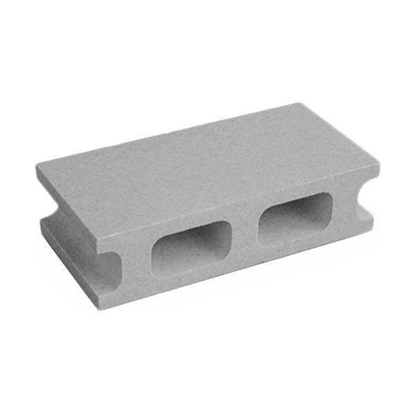 石山 発泡スチロール Kブロック(小) グレー 121112 1個 (お取寄せ品)