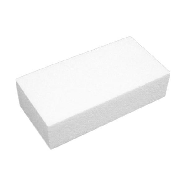 石山 発泡スチロール Kレンガ ホワイト 121610 1個 (お取寄せ品)