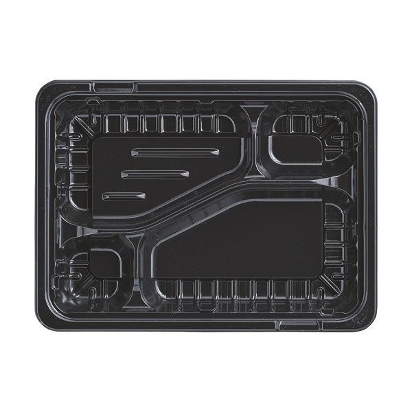 エフピコ MSD箱弁 23−17−2 本体 黒 1パック(50個)