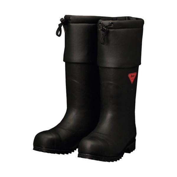 シバタ工業 防寒安全長靴 セーフティベアー #1001 白熊(ブラック) AC111−27.0 1足 (メーカー直送)