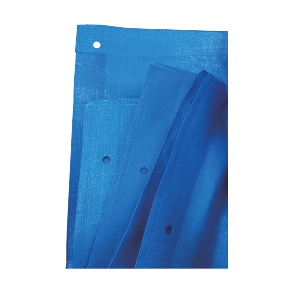 旭産業 ブルーシート#3000ノンメタルハトメ 10m×10m BS−NA1010 1枚 (メーカー直送)