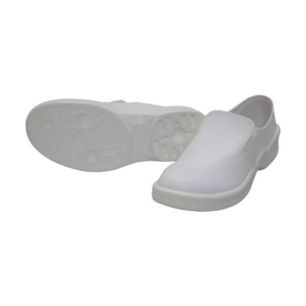 ゴールドウィン 静電安全靴クリーンシューズ ホワイト 25.0cm PA9880−W−25.0 1足 (メーカー直送)
