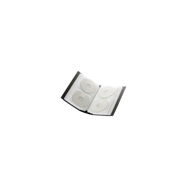 バッファロー CD&DVDファイルケース ブックタイプ 96枚収納 ブルー BSCD01F96BL 1個